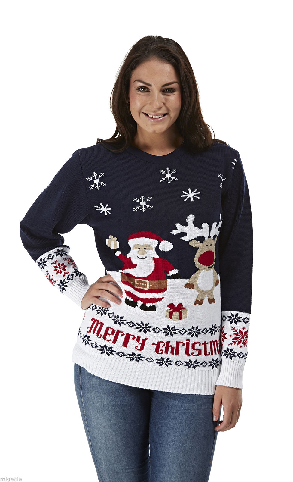 Kersttrui Dames Rendier.Kerstman Kado Foute Kersttrui Kopen Grootste Aanbod Kersttruien