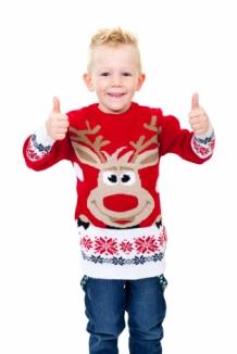 Kersttrui Kids.Rudolph Rood Kids Foute Kersttrui Kopen Grootste Aanbod